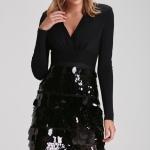 Adil ışık payet mini gece elbisesi iyatı 699,90 TL