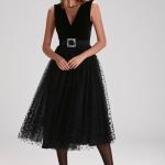 Adil ışık siyah tül elbise fiyatı 999,90 TL