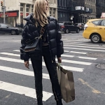 bayan siyah mont modelleri ve kombinler 2019 20