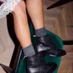 çorap ile botlar nasıl giyilir