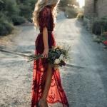dantelli mezuniyet elbise modelleri 2019