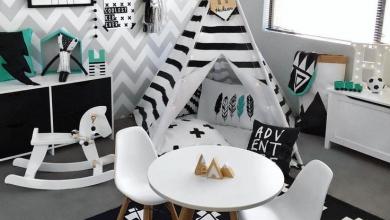 Photo of Kopya Çekebileceğiniz 15 Modern Siyah Beyaz Çocuk Odası Dekorasyonu