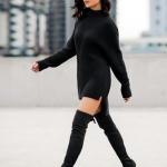 siyah kazak elbiseler 2019 20