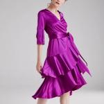Volanlı gece elbisesi fiyatı 599,90 TL