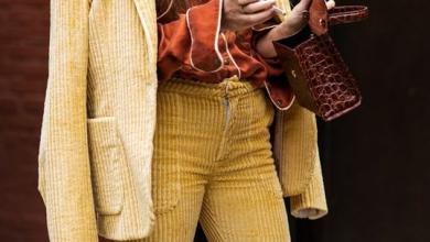 Yüksek Bel Bol Paça Kadife Pantolon Modelleri 2019 2020