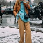 Yüksek Bel Bol Paça Pantolon Kombinleri 2019