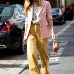 Yüksek Bel Bol Paça Pantolon Kombinleri ve Stil Önerileri 2019