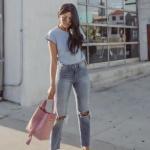 bayan yırtık kot pantolon 2019