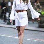 beyaz gömlek elbise modelleri 2019