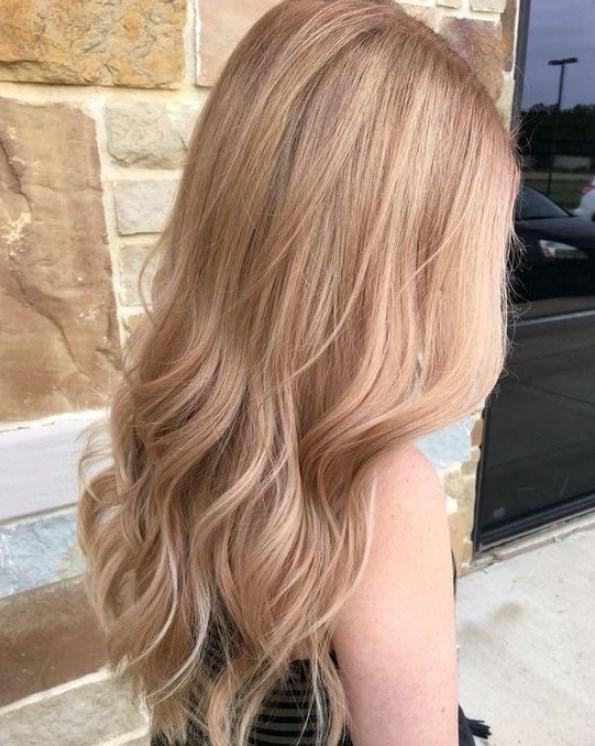 çilekli bal saç renkleri 2019