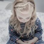 çocuklar için örgülü saç modelleri 2019 2020