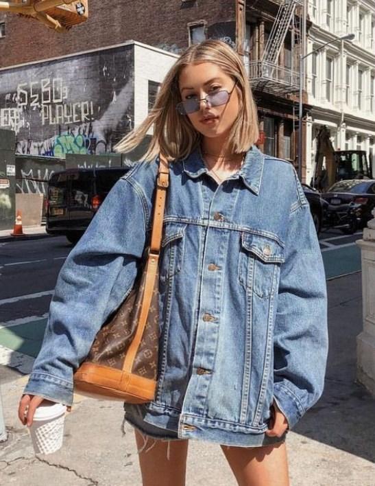 ilkbahar yaz 2019 bayan kot ceket modelleri
