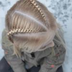kız çocuk 2019 saç modelleri
