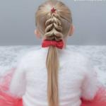 kız çocuk örgü saç modelleri 2019