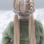 kız çocuklar için saç modelleri 2019