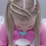 küçük kız anaokulu saç modelleri 2019