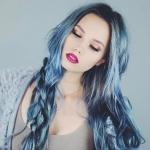 küllü mavi saç renkleri 2019 yaz