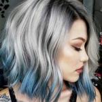 mavi gölgeli saç renkleri 2019 2020