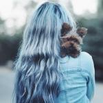 pastel mavi saç renkleri 2019