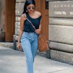 yüksek bel bayan kot pantolon modelleri 2019