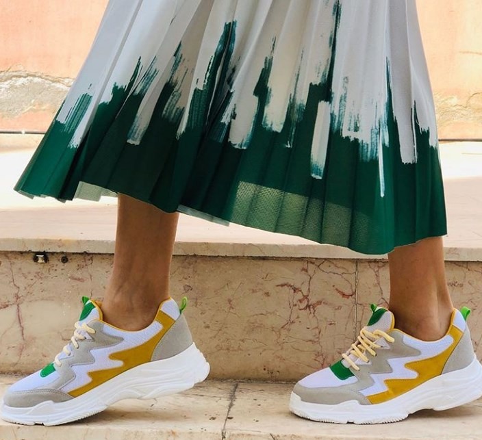 2019 ilkbahar yaz bayan spor ayakkabılar