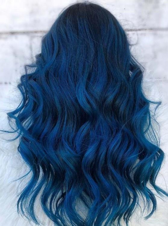 2019 mavi saç renkleri