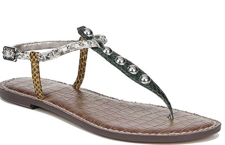 bayan yazlık düz sandalet modelleri 2019