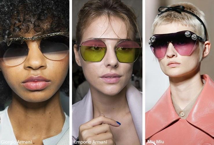camları iki tonlu güneş gözlükleri 2019 2020