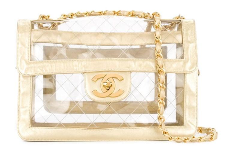 Chanel Vintage transparan çanta modeli 2019