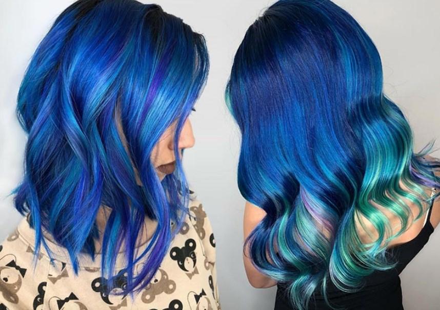 Cilt Tonunuza Uygun En iyi Mavi Saç Rengi Nasıl Seçilir