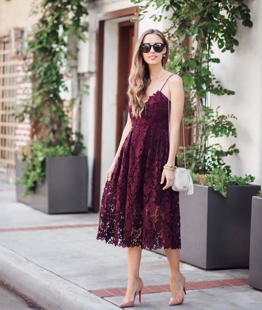 bcf642657450b dantelli elbise modelleri 2019 2020 - Trendler ve Moda