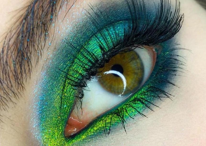 Göz renginiz için doğru yeşil göz farı seçmek için ipuçları