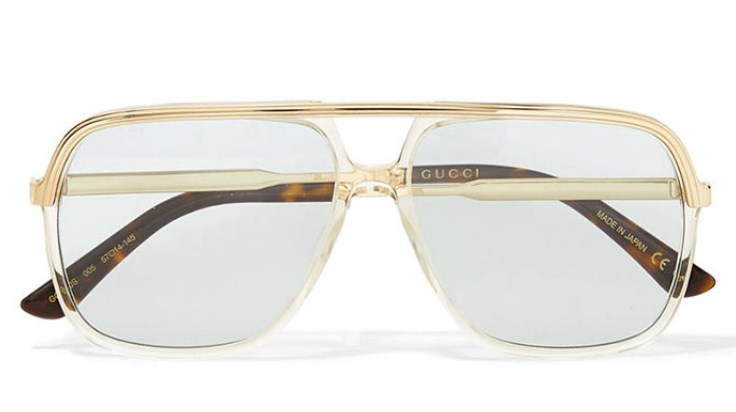 Gucci Aviator bayan güneş gözlüğü modeli 2019