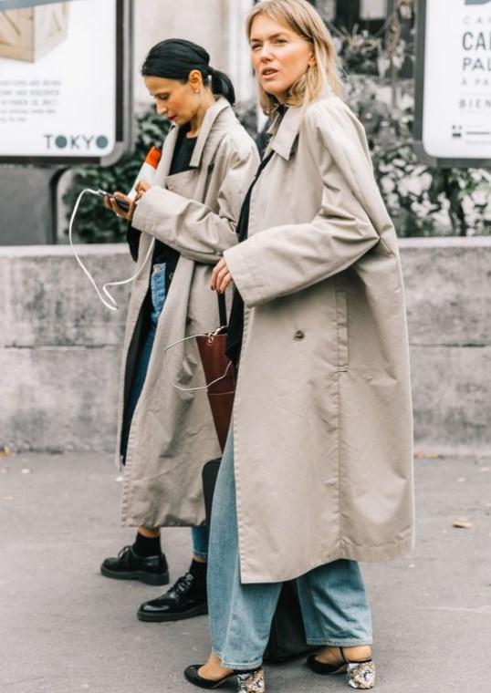 ilkbahar modası 2019 trençkotlar