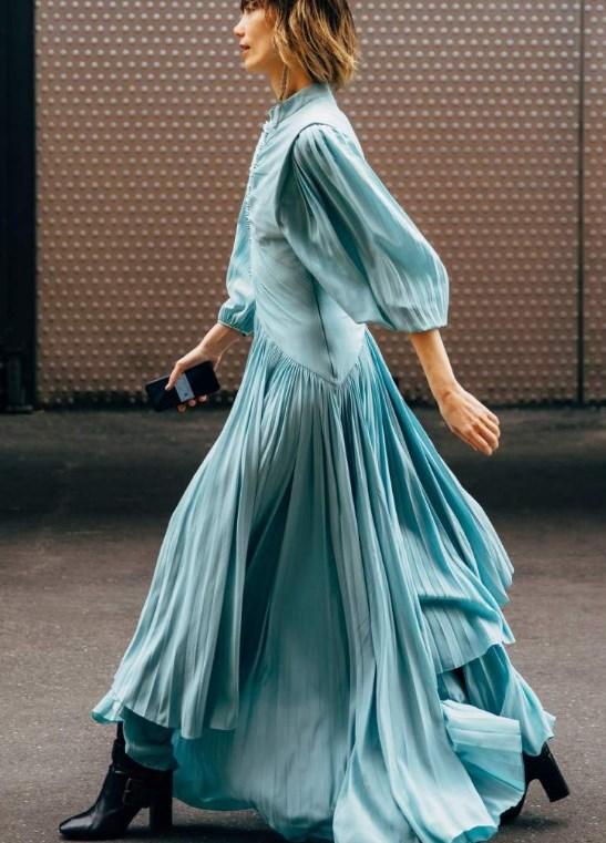 İlkbahar yaz 2019 2020 sokak modası elbiseler