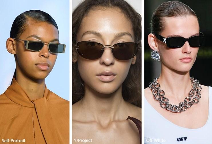 ilkbahar yaz 2019 dikdörtgen güneş gözlükleri