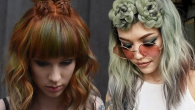 Kısa Saçlar İçin 21 Sevimli Örgü Modelleri 2019