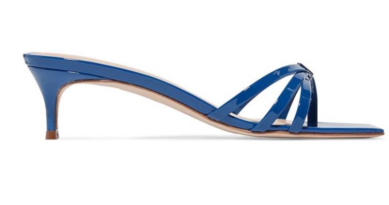 kısa topuk yazlık sandalet modeli 2019