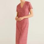 mango dantelli elbise modeli 2019 2020