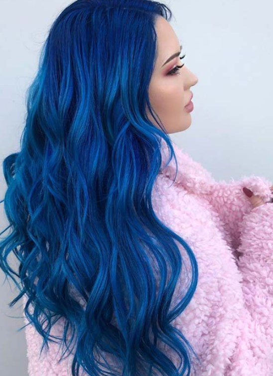 mavi saç rengi stil ipuçları