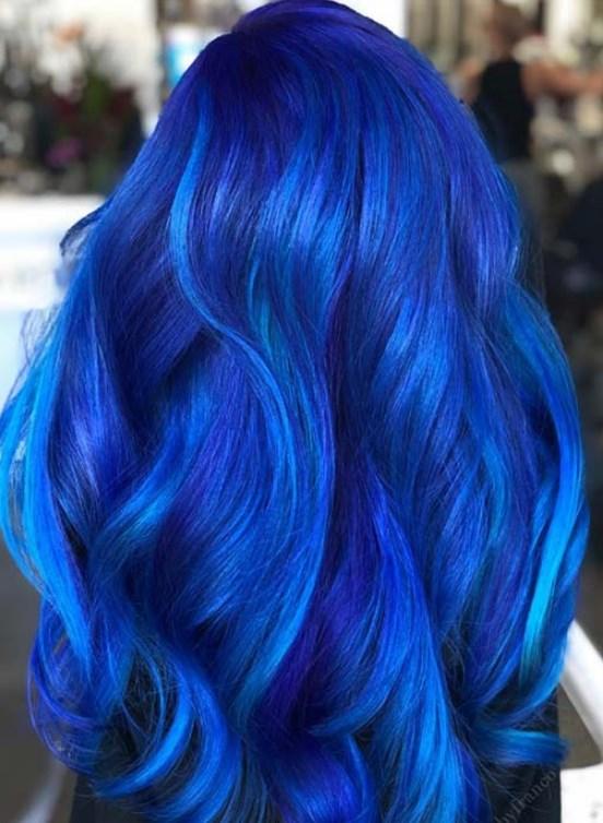 okyonus mavisi saç rengi