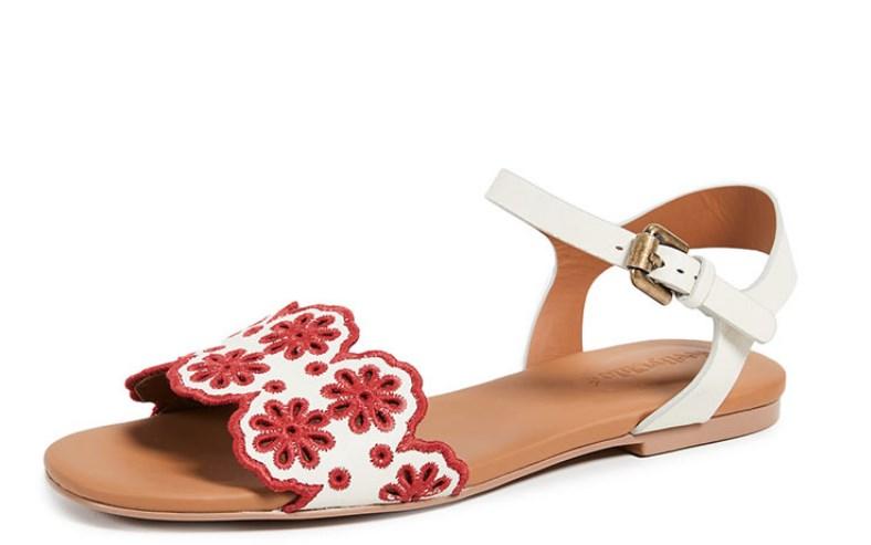 romantik yazlık sandalet modelleri 2019