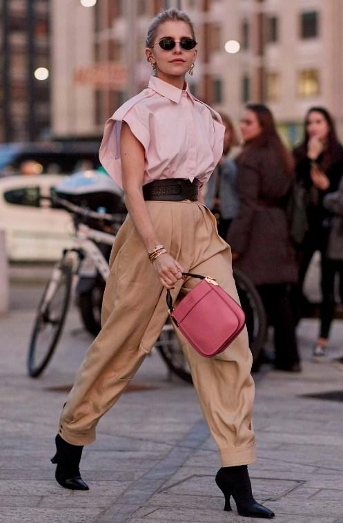 sokak modası 2019 ilkbahar pantolonlar