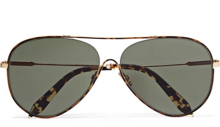 Victoria Beckham Aviator güneş gözlükleri 2019