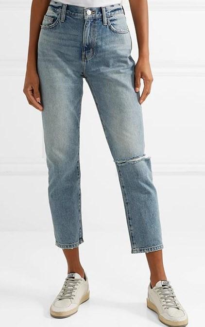 vintage yüksek belli kot pantolon 2019
