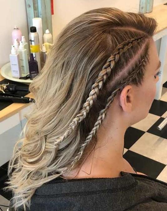 yan hollandalı saç örgü modelleri 2019