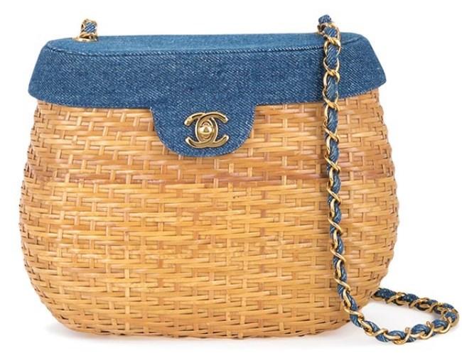 Yaz için En İyi Hasır Çantalar 2019 Chanel Vintage Çanta Modeli