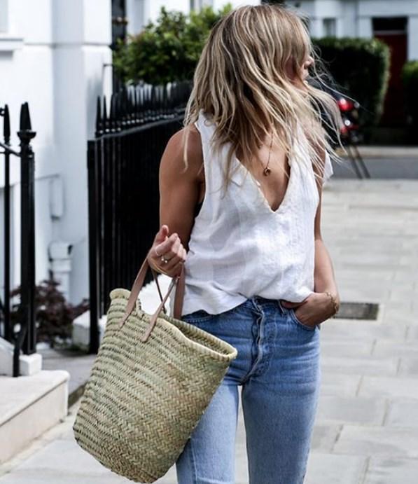 летняя соломенная сумка модели 2019 2020