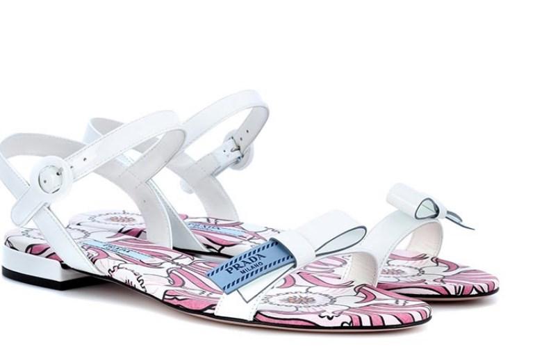 yazlık prada düz sandalet modelleri 2019