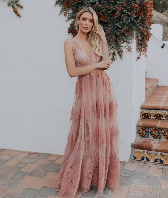 13c974964fe8e yazlık uzun düğün elbise modelleri 2019 2020 - Trendler ve Moda